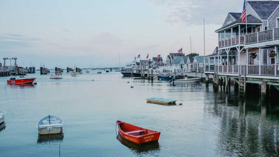 Nantucket Harbor.